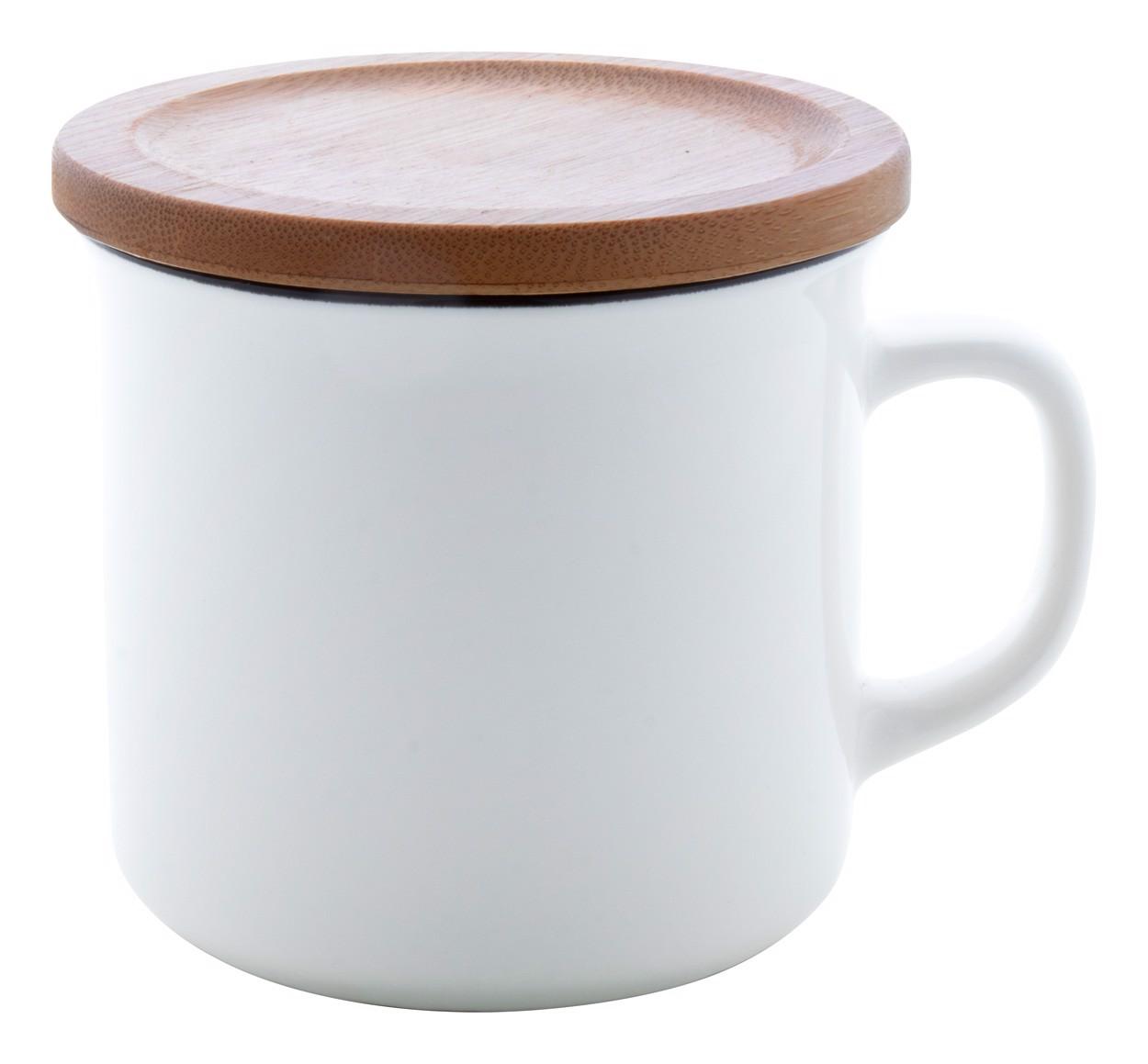Porcelain Mug Cybele - White