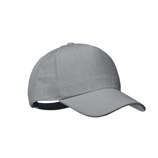 Kšiltovka z konopí Naima Cap - grey