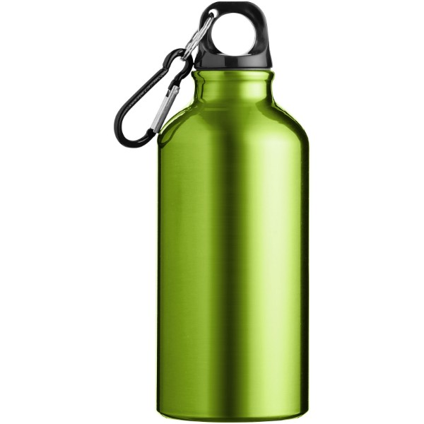 Oregon 400 ml Trinkflasche mit Karabiner - Apfelgrün