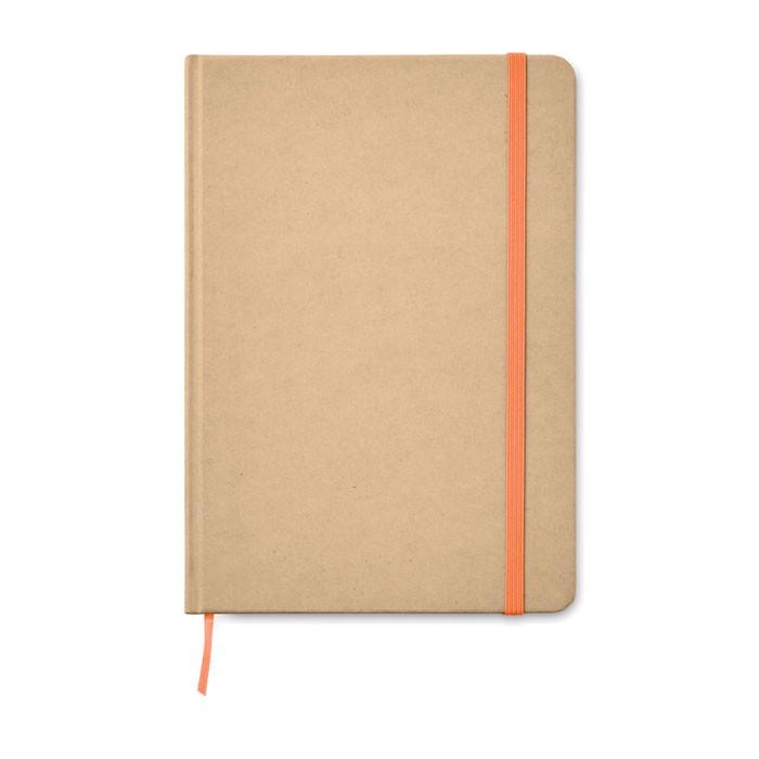 Notatnik A5 Everwrite - pomarańczowy