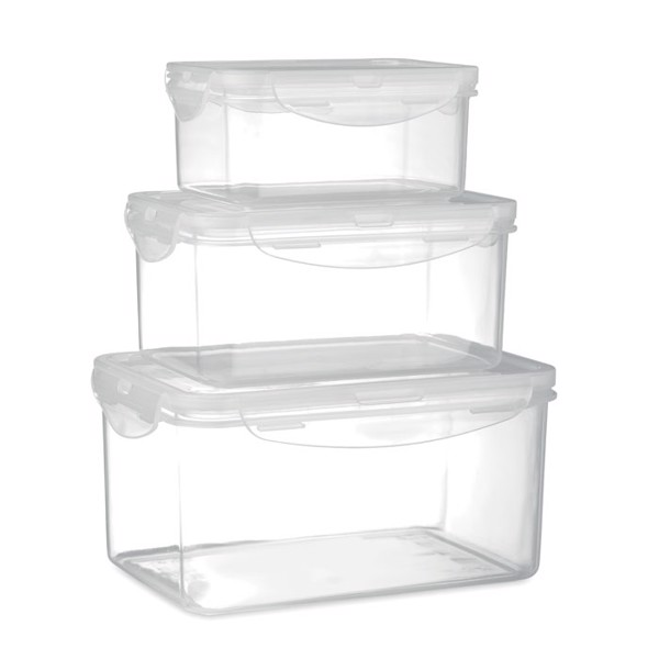 Set of 3 food storage boxes Storie