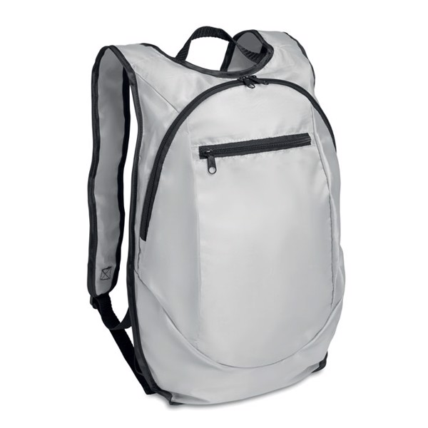 Sport rucksack in 210D Runy - White
