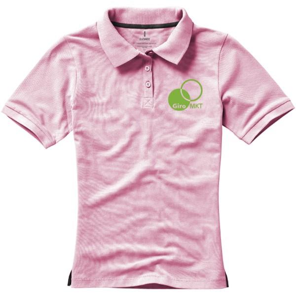 Calgary short sleeve women's polo - Light Pink / L