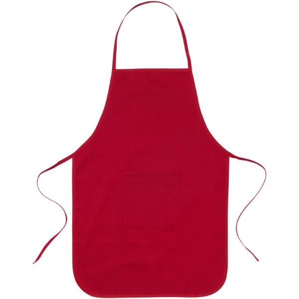 Giada cotton childrens apron - Red
