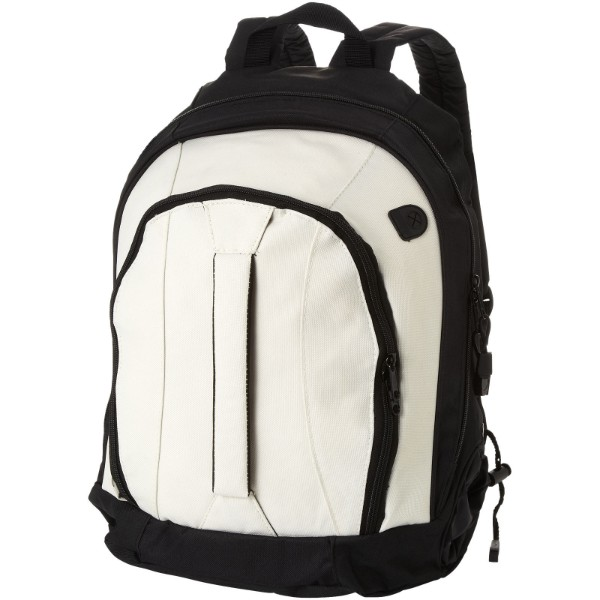 Arizona front handle backpack - White / Solid black