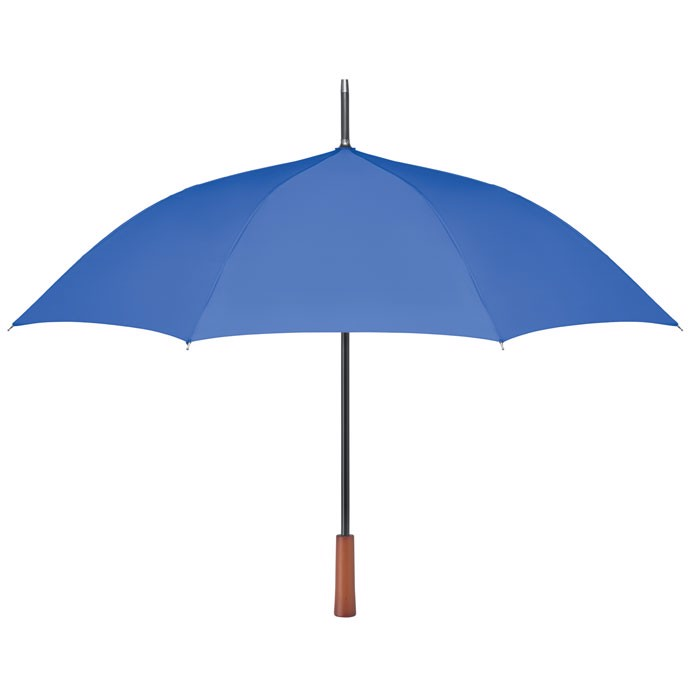 "23"" wooden handle umbrella Galway - Royal Blue"