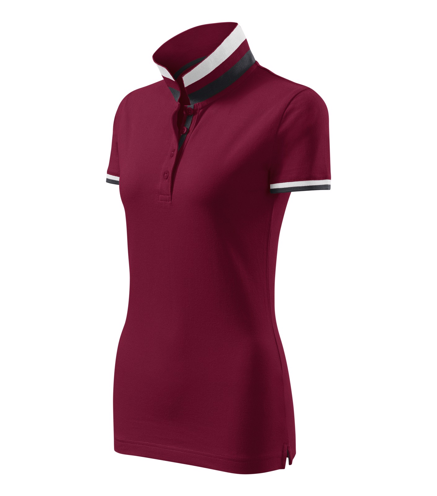 Polokošile dámská Malfinipremium Collar Up - Garnet / S