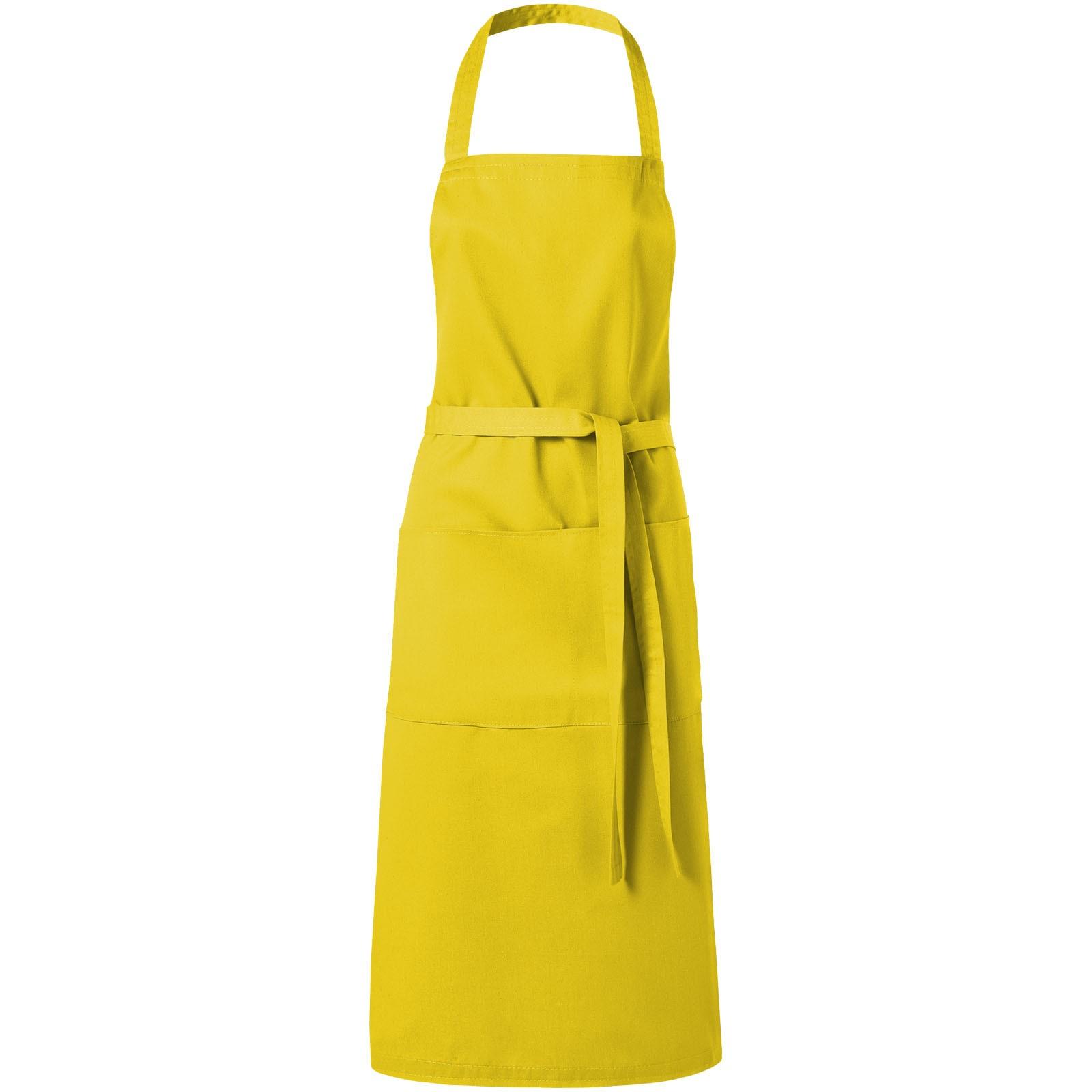 Zástěra Viera se dvěma kapsami - Žlutá