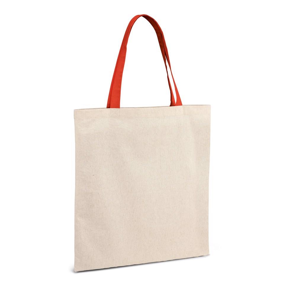 KOLONAKI. Bolsa de algodón 100% - Rojo