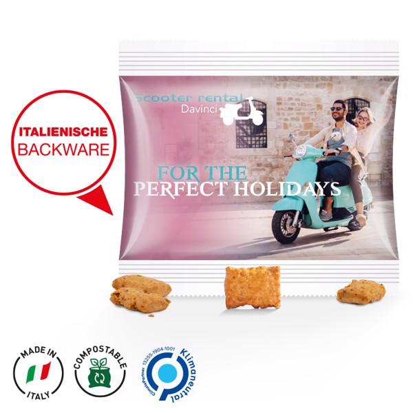 Käse Chips Miditüte - Transparent / Käse Chips / 10G / Folie