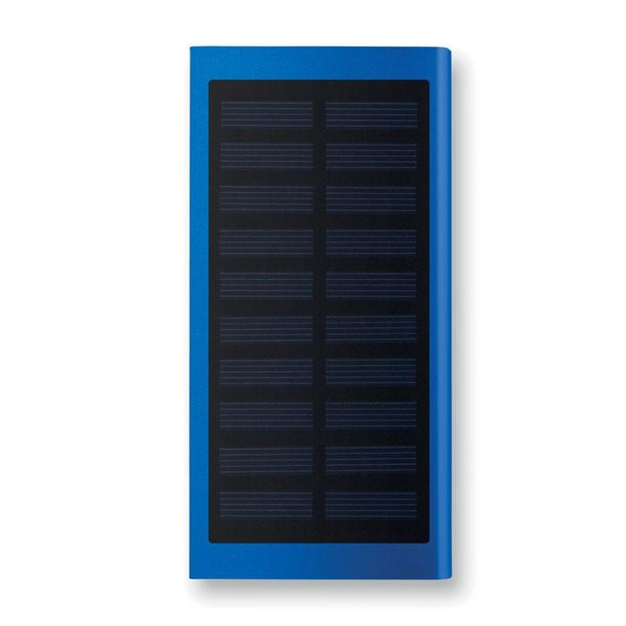 Solar power bank 8000 mAh Solar Powerflat - Royal Blue