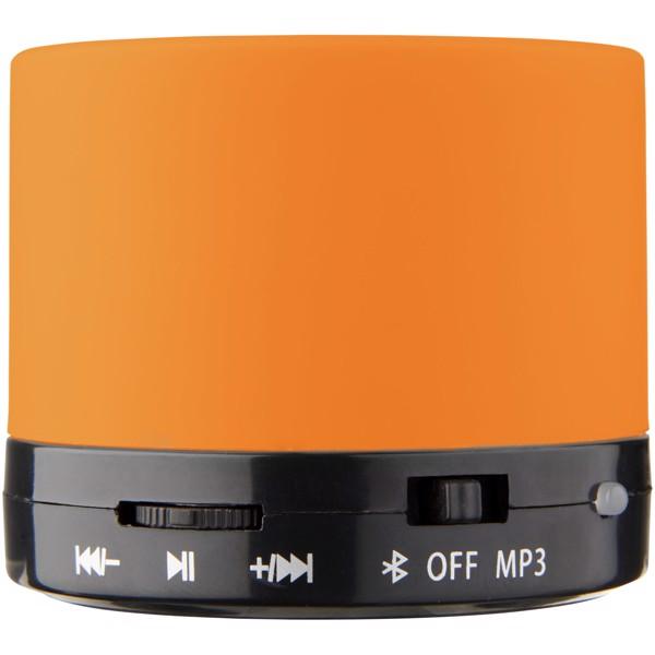 Duck Zylinder Bluetooth® Lautsprecher mit gummierter Oberfläche - Orange