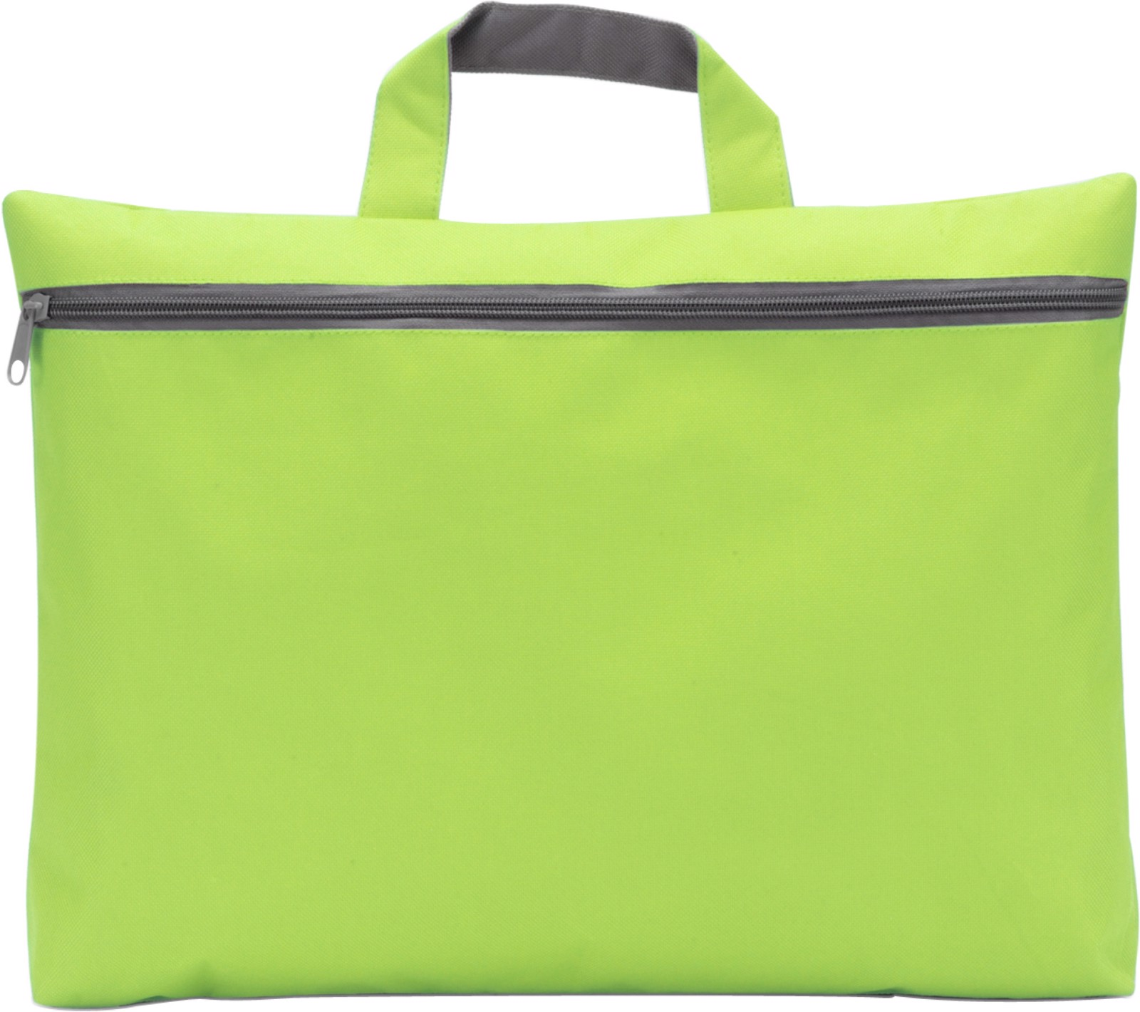 Polyester (600D) conference bag - Lime