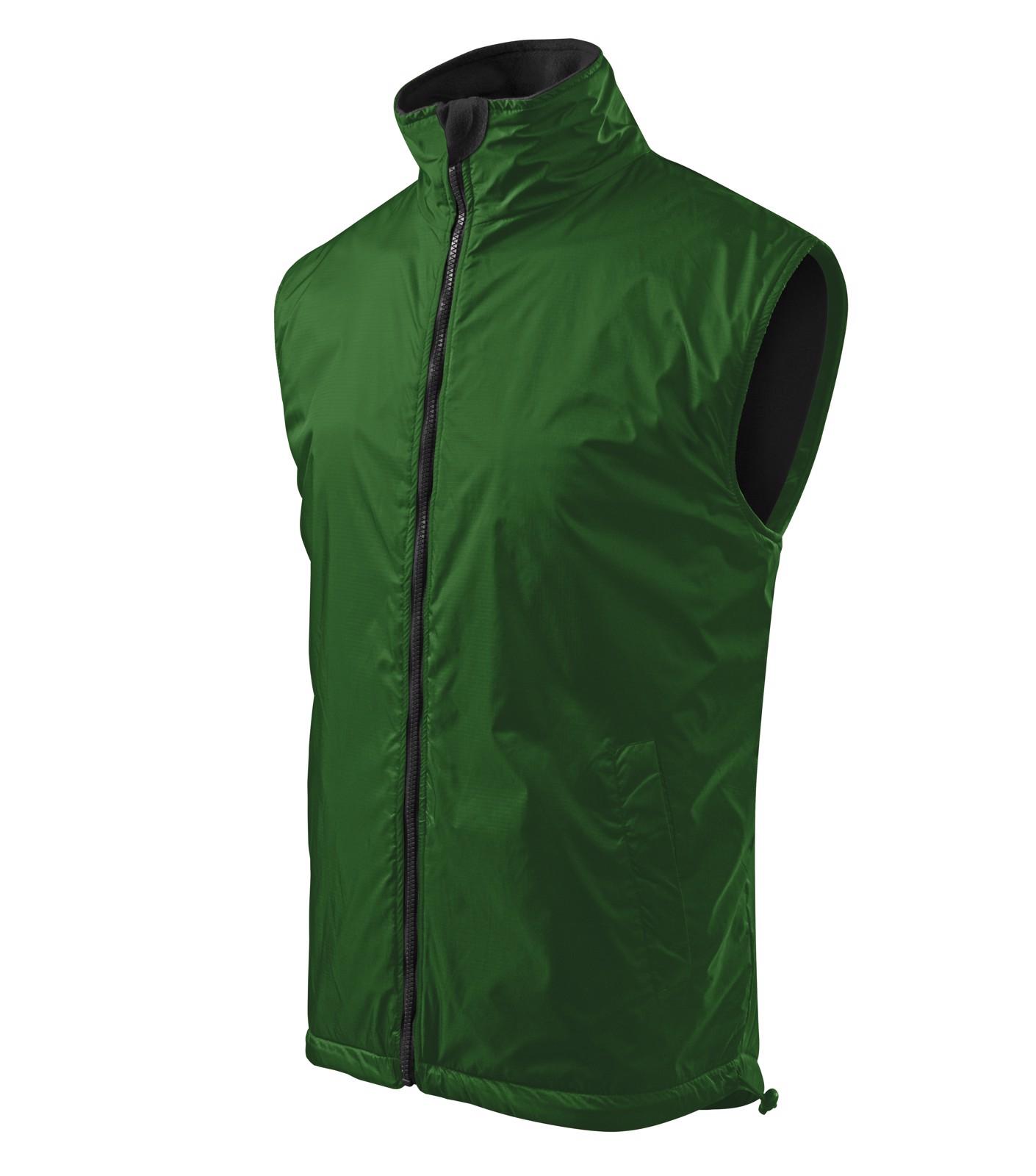 Vesta pánská Malfini Body Warmer - Lahvově Zelená / L
