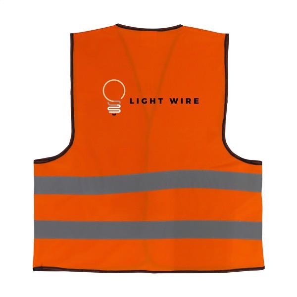 SafetyFirst safety vest - Fluorescent Orange