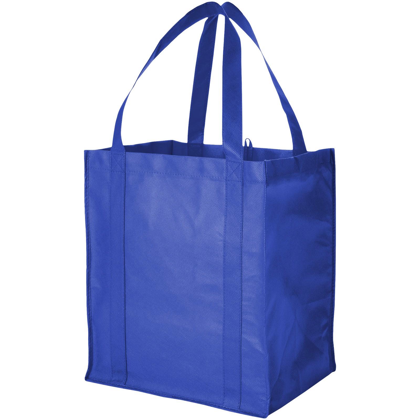Liberty bottom board non-woven tote bag - Royal blue