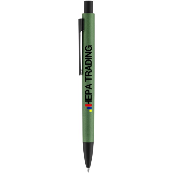 Hliníkové kuličkové pero Ardea - Zelená