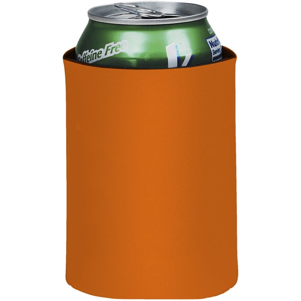 Crowdio insulated collapsible foam can holder - Orange