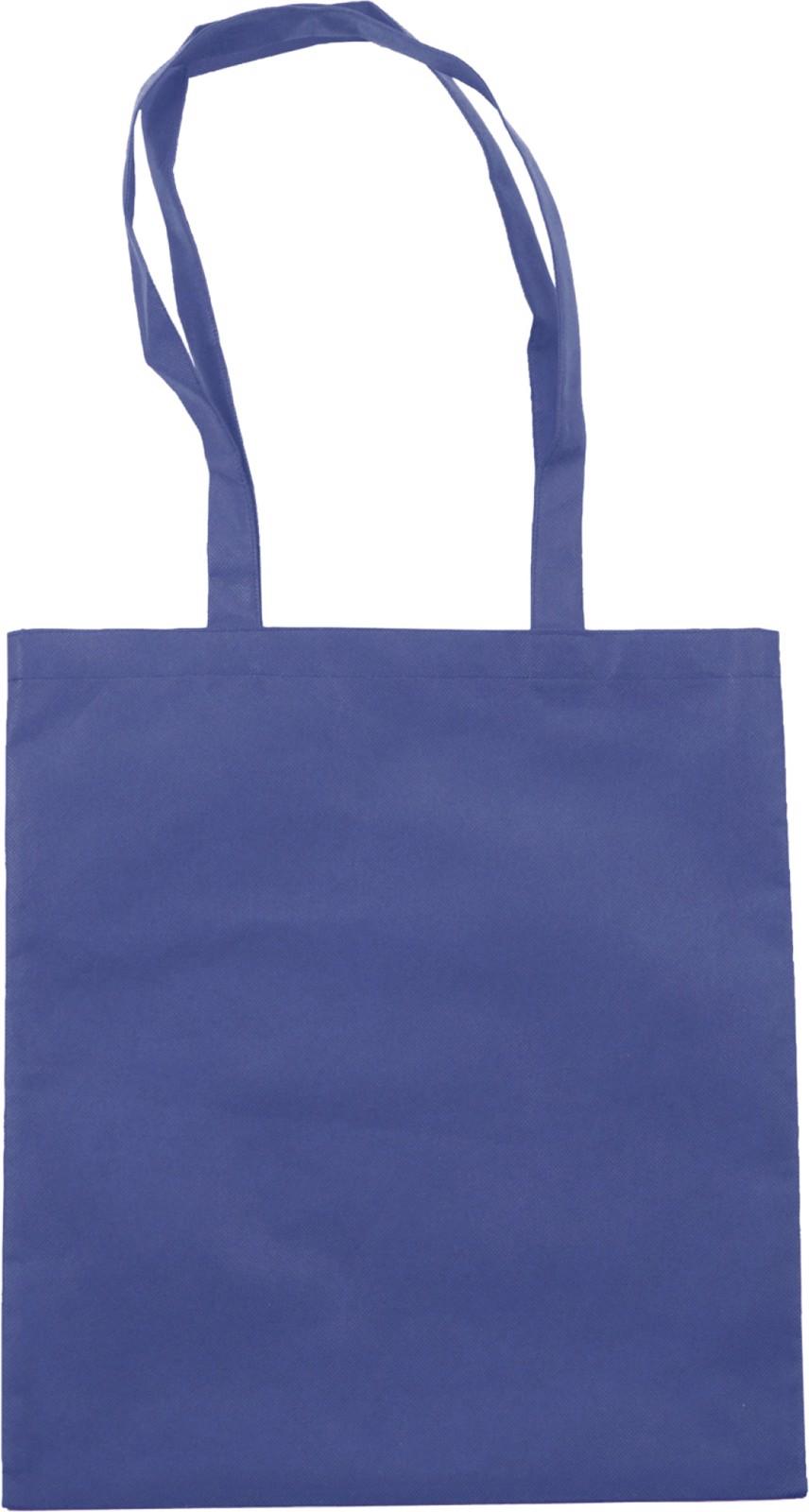 Nonwoven (80 gr/m²) shopping bag - Blue