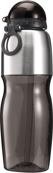 Trinkflasche 'Sports' aus Kunststoff - Black