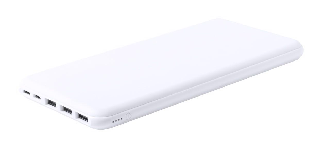 Power Bank Bradfor - White