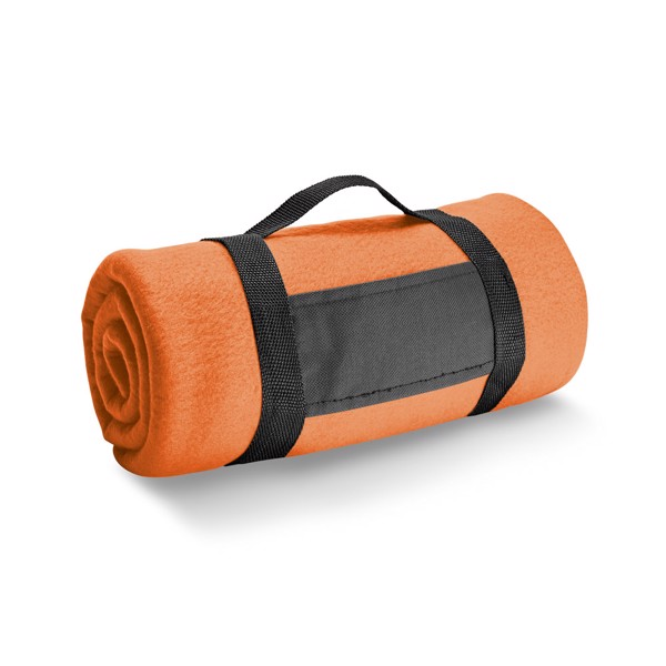 THORPE. Κουβέρτα 180 g/m² - Πορτοκάλι