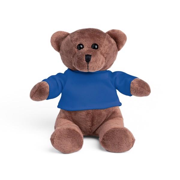 BEAR. Βελούδινο παιχνίδι - Μπλε Ρουά