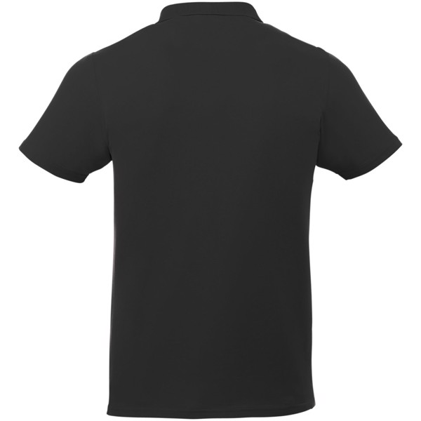 Liberty short sleeve men's polo - Solid black / XL