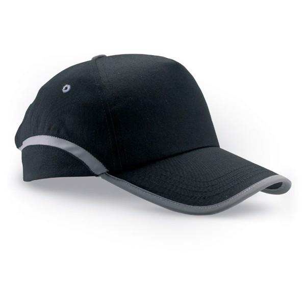 Cotton baseball cap Visinatu - Black