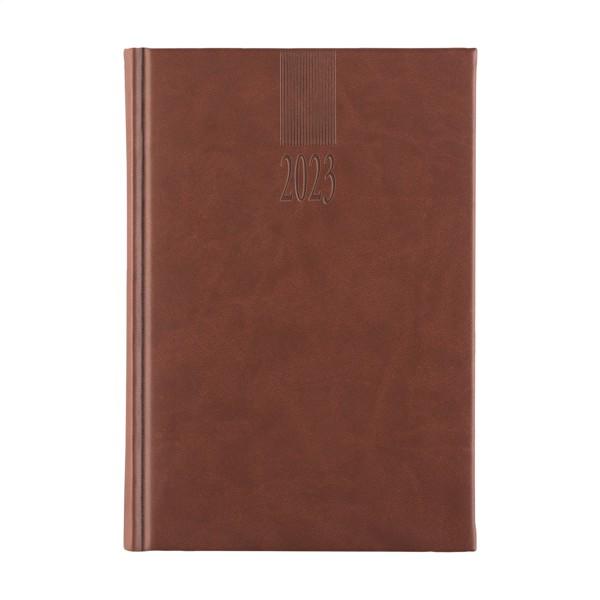 Eurodirect diary 4 languages - Brown