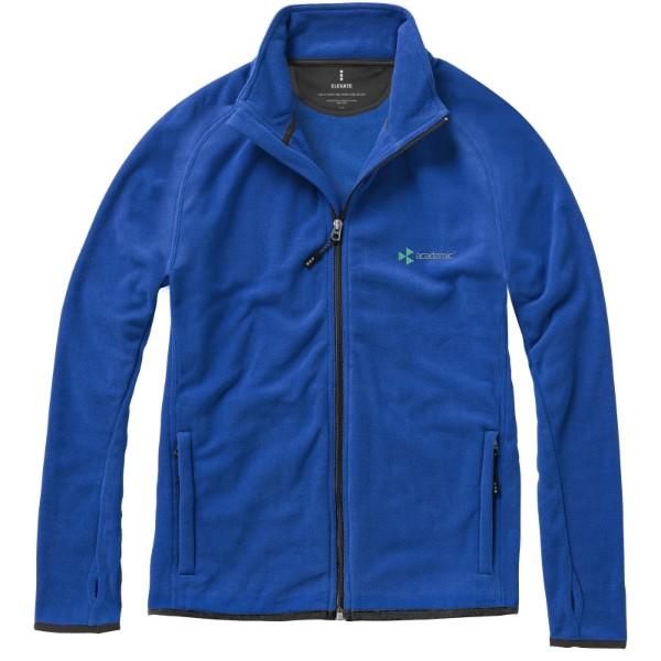 Brossard micro fleece full zip jacket - Blue / XS
