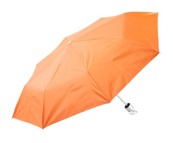 Deštník Susan - Oranžová / Stříbrná
