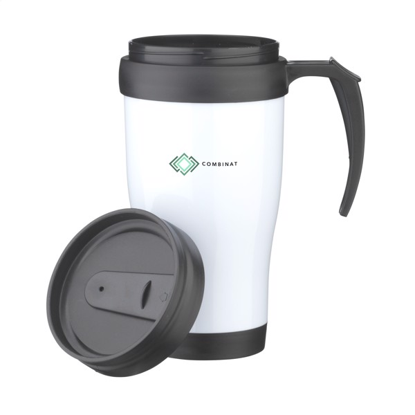 ThermoDrink 400 ml thermo cup - White