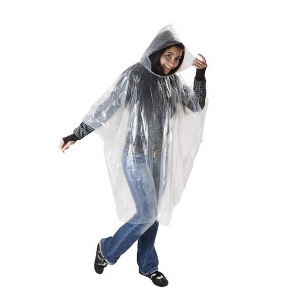 "Regenponcho ""Rainy"" - Transparent"