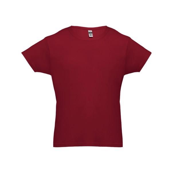 LUANDA. Pánské tričko - Bordó / S