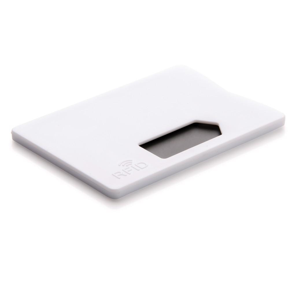 RFID anti-skimming cardholder - White