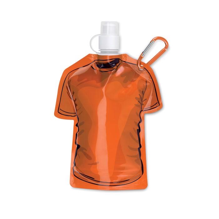T-shirt foldable bottle Samy - Orange