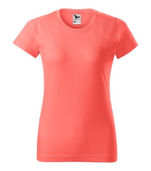 Tričko dámské Malfini Basic - Korálová / M