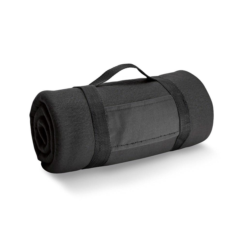 THORPE. Polar blanket 180 g/m² - Black