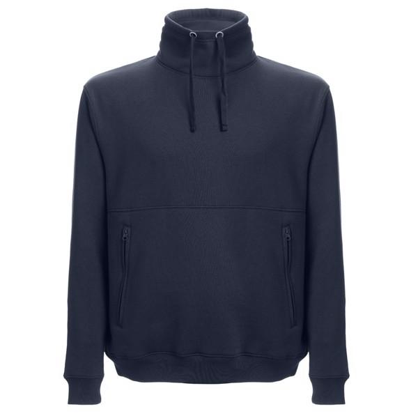 THC VILNIUS. Sweatshirt unissexo, com capuz - Azul Marinho / S