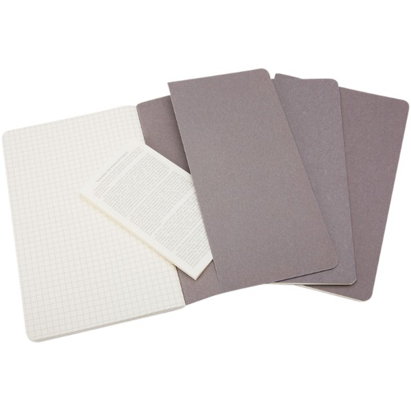 Cahier Journal L - squared - Pebble grey