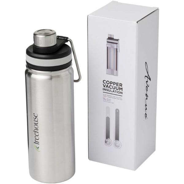 Gessi 590 ml copper vacuum insulated sport bottle - Silver