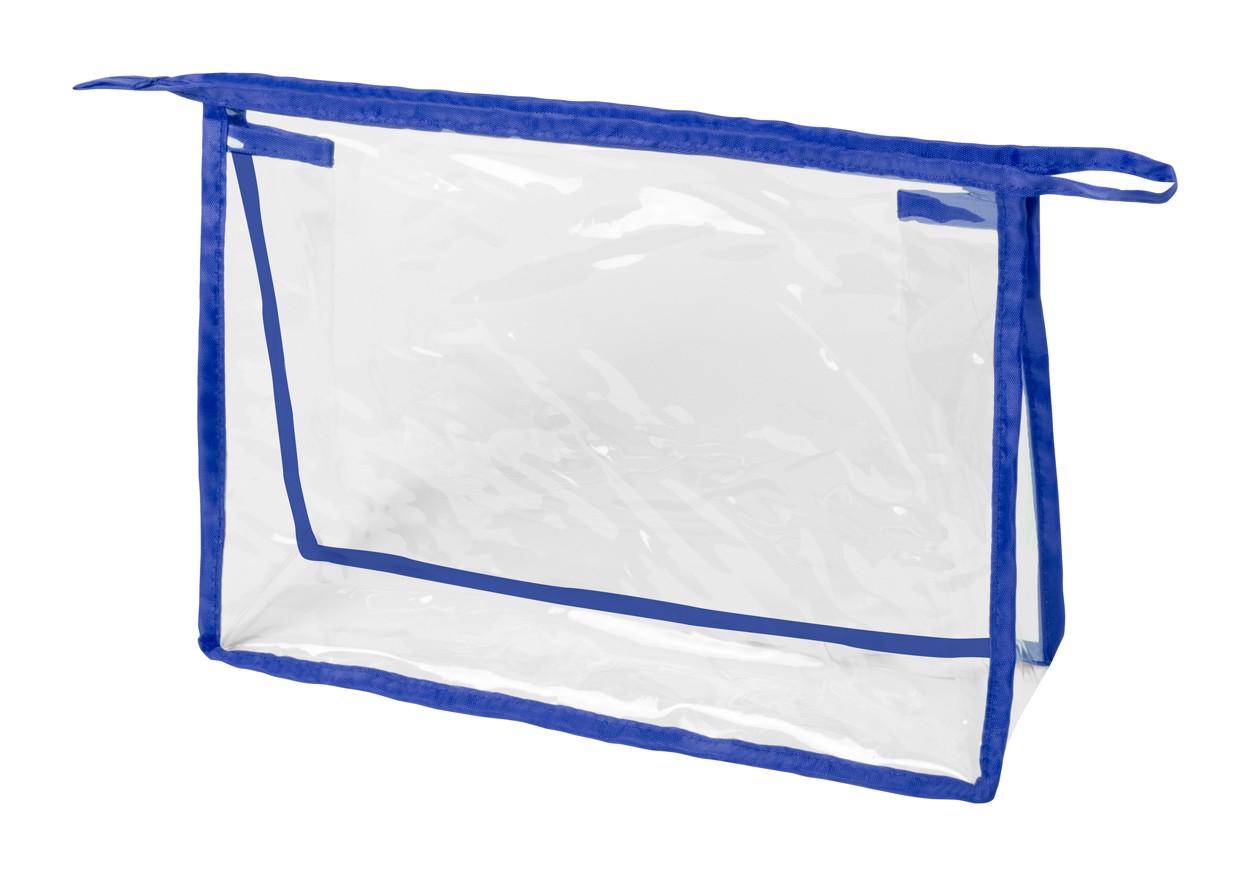Kosmetická Taška Losut - Průhledná / Modrá