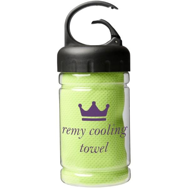 Remy Kühlhandtuch in PET-Behälter - Limone
