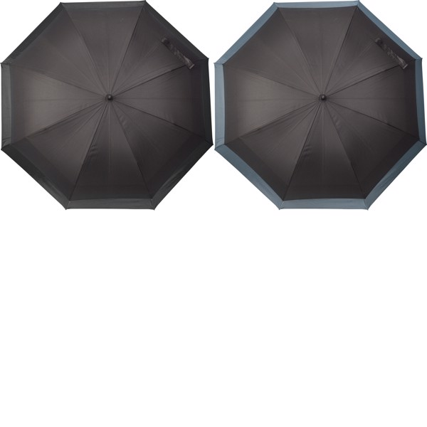 Pongee (190T) umbrella - Grey