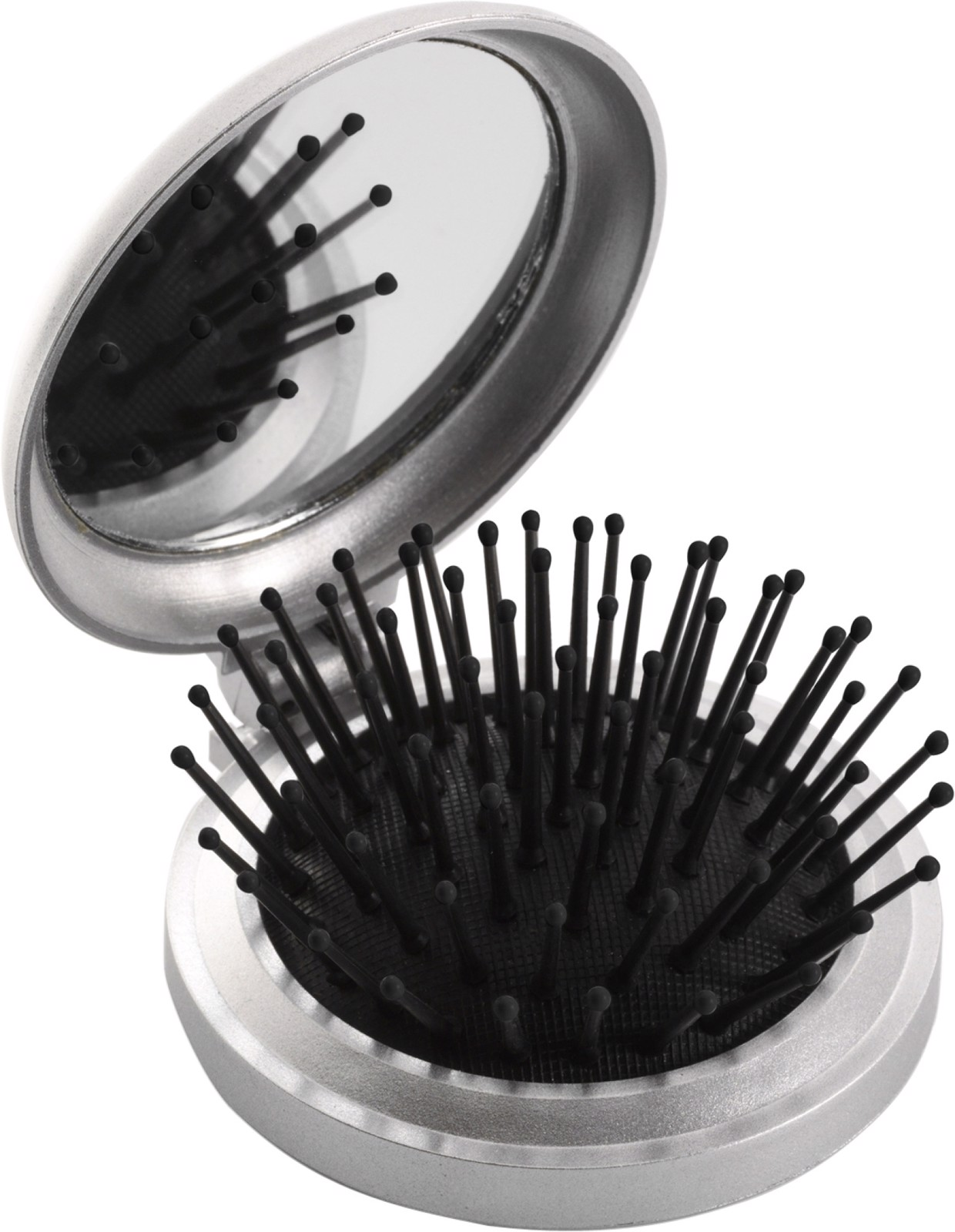 ABS pocket mirror with brush