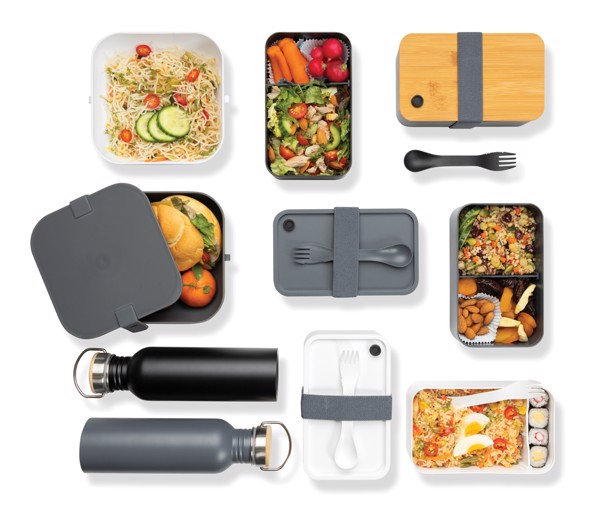 PP lunchbox square - Anthracite