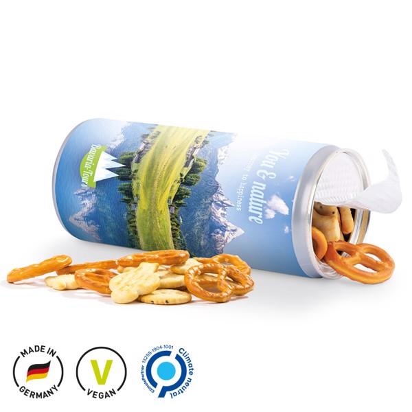 Snack Roll, Mini Salzbrezeln - Farblos-Transparent / Salzbrezeln