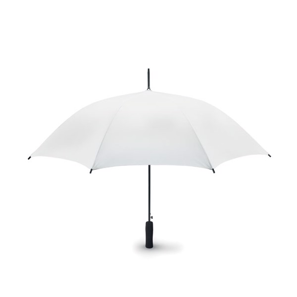 "23"" uni colour umbrella Small Swansea - White"