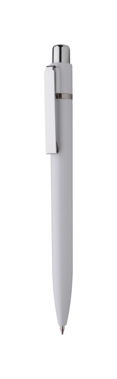 Kuličkové Pero Solid - Bílá